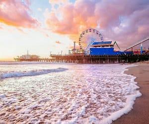 amazing, beach, and california image