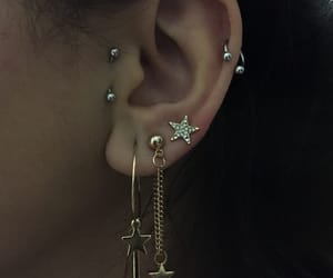 piercing, Piercings, and ear piercings image