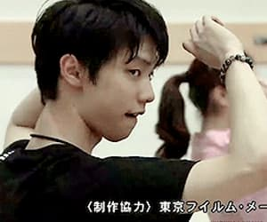 gif, figure skater, and 可愛い image