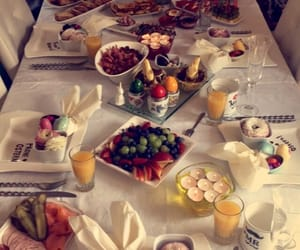 breakfast, happy easter, and table image