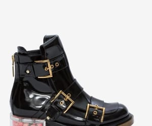Alexander McQueen, black, and boots image