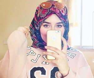 fashion, cute, and hijab image