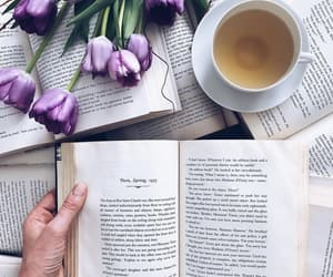 bambi, books, and flowers image