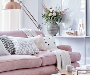 pink, white, and aesthetic house decor image