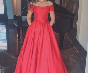 evening dress, prom dress, and formal occasion dress image