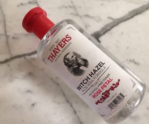 rose water, witch hazel, and thayers image