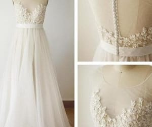 bridal gown, bridal dress, and wedding dress image
