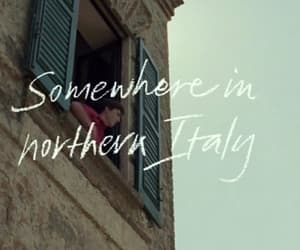 call me by your name, aesthetic, and italy image
