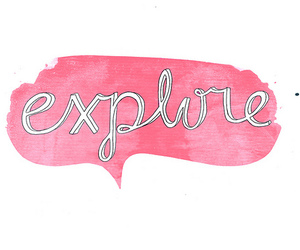 explore, quotes, and text image