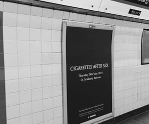 black and white, london, and underground image
