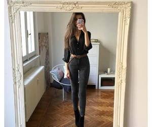 black, negro, and outfit image