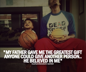 father, quote, and Basketball image