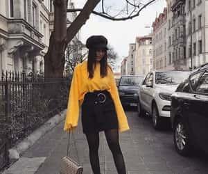 bag, black, and city image