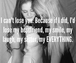 best friends, quotes, and sister image