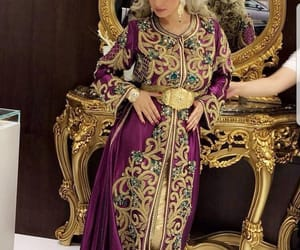 morocco, arabic style, and caftan image