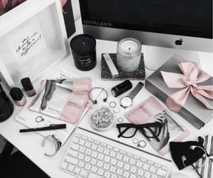 theme, amy nelson, and grey and pink image