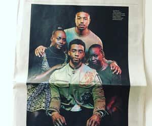 black panther, chadwick boseman, and t'challa image