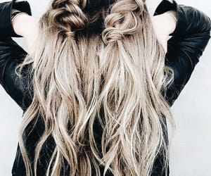 article, fashion, and hairstyle image