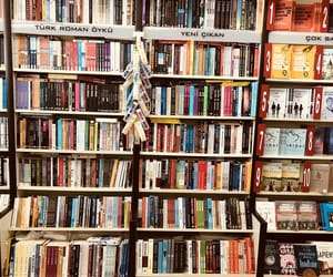 books, colorful, and 80svibes image