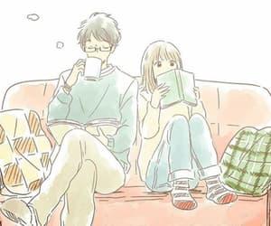 couple, anime, and kawaii image