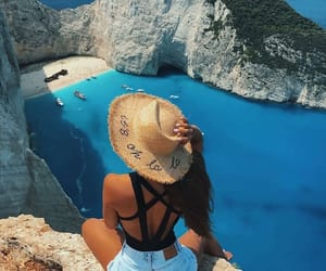 beach, europe, and blue image