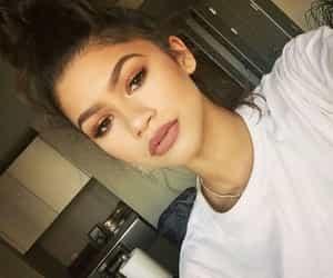 zendaya, beauty, and lips image
