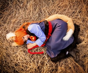 anime, spice and wolf, and cosplay image