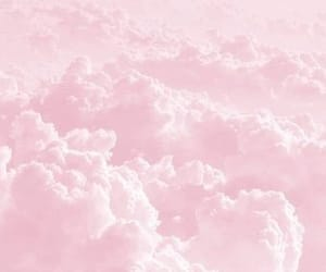 aesthetic, clouds, and pink image