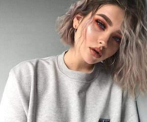 girl, makeup, and style image