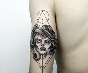medusa and tatto image