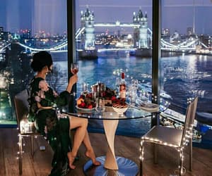 bridge, champagne, and london image