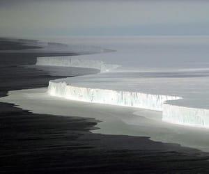 ice, photography, and sea image