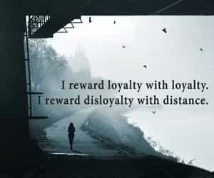 distance, quote, and loyalty image