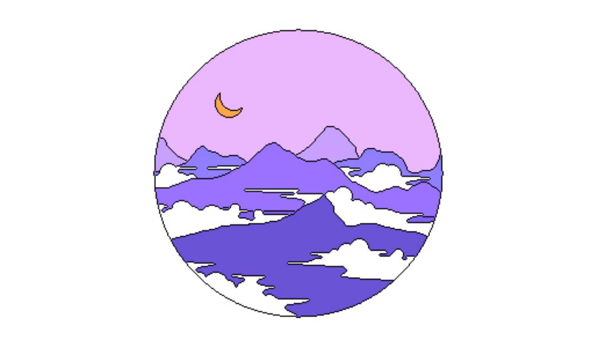 article, horoskop, and gelb image