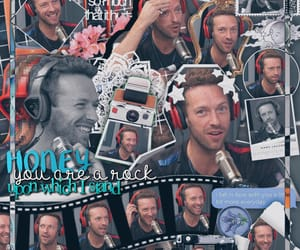 Chris Martin, coldplay, and edit image