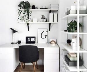 desk, home, and interior image
