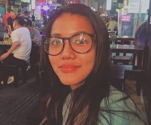 girls, glasses girl, and asia girls image