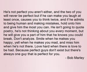 bob marley, couple, and smile image