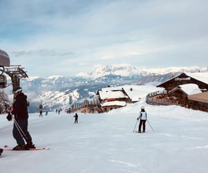 aesthetic, Skiing, and austria image