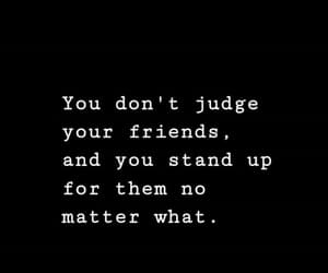 black and white, quote, and stand up image
