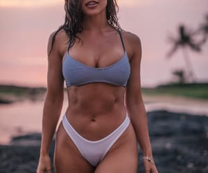 abs, beautiful, and girls image