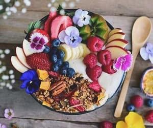 art, banana, and breakfast image