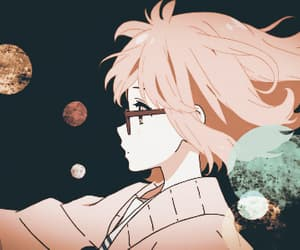 anime, kyoukai no kanata, and girl image