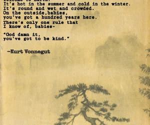 kind, kurt vonnegut, and quotes image