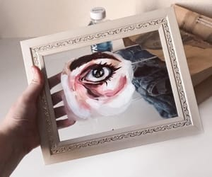 aesthetic, artists, and eyes image