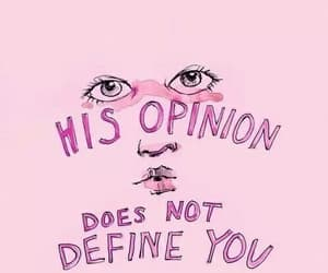 quotes, pink, and opinion image