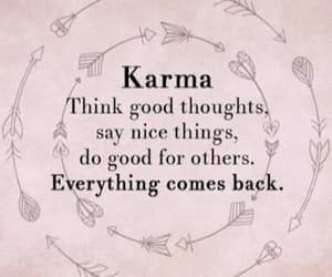 everything, frases, and karma image