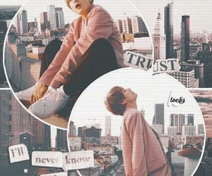 aesthetic, taehyung, and jimin image