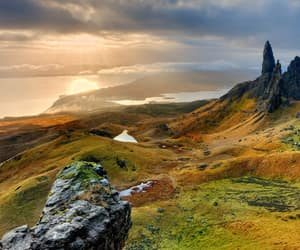 scotland, landscape, and nature image