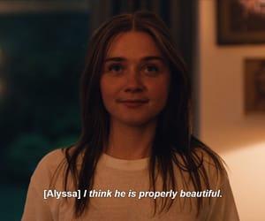 Alyssa, quote, and series image